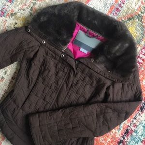 NIKE quilted puffer style jacket